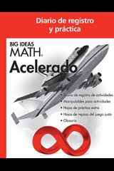 BIG IDEAS MATH Accelerated Spanish Record & Practice Journal Red/Course 2