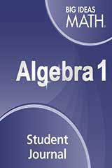 Big Ideas Math Algebra 1 Student Journal
