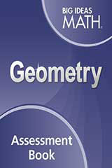 Big Ideas Math Geometry Assessment Book