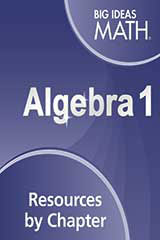 Big Ideas Math Algebra 1 Resources by Chapter