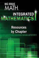 BIG IDEAS MATH Integrated Math 1 Resources by Chapter