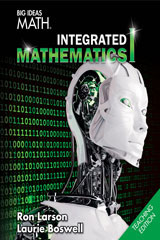 BIG IDEAS MATH Integrated Math 1 Dynamic Teaching Resources Online 6-year