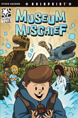 Steck-Vaughn BOLDPRINT Graphic Novels  Individual Student Edition Museum Mischief-9781770583559