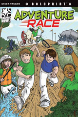 Steck-Vaughn BOLDPRINT Graphic Novels  Individual Student Edition Adventure Race-9781770583610