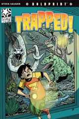 Steck-Vaughn BOLDPRINT Graphic Novels  Individual Student Edition Trapped!-9781770583627