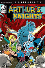 Steck-Vaughn BOLDPRINT Graphic Novels  Individual Student Edition Arthur's Knights-9781770583665