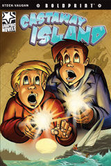 Steck-Vaughn BOLDPRINT Graphic Novels  Individual Student Edition Castaway Island-9781770583702
