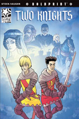 Steck-Vaughn BOLDPRINT Graphic Novels  Individual Student Edition Two Knights-9781770583894