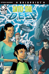 Steck-Vaughn BOLDPRINT Graphic Novels  Individual Student Edition Into the Deep-9781770583931