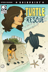 Steck-Vaughn BOLDPRINT Graphic Novels  Individual Student Edition Turtle Rescue-9781770583962
