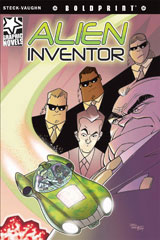 Steck-Vaughn BOLDPRINT Graphic Novels  Individual Student Edition Alien Inventor-9781770583979