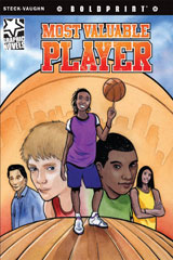 Steck-Vaughn BOLDPRINT Graphic Novels  Individual Student Edition Most Valuable Player-9781770584006