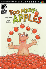 Steck-Vaughn BOLDPRINT Kids Graphic Readers Individual Student Edition Too Many Apples