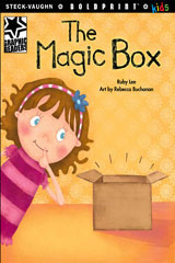 Steck-Vaughn BOLDPRINT Kids Graphic Readers  Individual Student Edition The Magic Box-9781770584815
