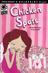 Steck-Vaughn BOLDPRINT Kids Graphic Readers  Individual Student Edition Chicken Spots-9781770585003