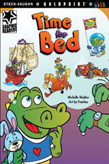 Steck-Vaughn BOLDPRINT Kids Graphic Readers  Individual Student Edition Time for Bed-9781770585034