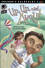 Steck-Vaughn BOLDPRINT Kids Graphic Readers  Individual Student Edition Up, Up, and Away!-9781770585119