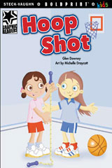 Steck-Vaughn BOLDPRINT Kids Graphic Readers  Individual Student Edition Hoop Shot-9781770585164