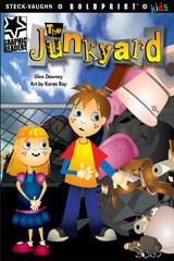 Steck-Vaughn BOLDPRINT Kids Graphic Readers  Individual Student Edition The Junkyard-9781770585171