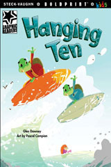 Steck-Vaughn BOLDPRINT Kids Graphic Readers  Individual Student Edition Hanging Ten-9781770585331