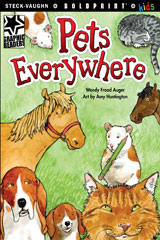 Steck-Vaughn BOLDPRINT Kids Graphic Readers  Individual Student Edition Pets Everywhere-9781770585348