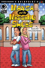 Steck-Vaughn BOLDPRINT Kids Graphic Readers  Individual Student Edition Maysa and the Missing Shoes-9781770585379