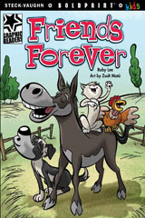 Steck-Vaughn BOLDPRINT Kids Graphic Readers  Individual Student Edition Friends Forever-9781770585447
