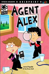 Steck-Vaughn BOLDPRINT Kids Graphic Readers  Individual Student Edition Agent Alex-9781770585478