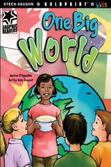 Steck-Vaughn BOLDPRINT Kids Graphic Readers  Individual Student Edition One Big World-9781770585485