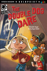 Steck-Vaughn BOLDPRINT Kids Graphic Readers  Individual Student Edition The Double Dog Dare-9781770585515