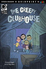 Steck-Vaughn BOLDPRINT Kids Graphic Readers  Individual Student Edition The Creepy Clubhouse-9781770585553