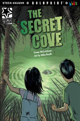 Steck-Vaughn BOLDPRINT Kids Graphic Readers  Individual Student Edition The Secret Cove-9781770585638