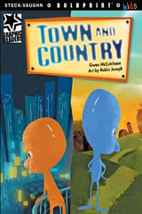 Steck-Vaughn BOLDPRINT Kids Graphic Readers  Individual Student Edition Town and Country-9781770585669