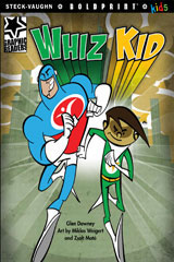 Steck-Vaughn BOLDPRINT Kids Graphic Readers  Individual Student Edition Whiz Kid-9781770585706