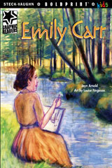 Steck-Vaughn BOLDPRINT Kids Graphic Readers  Individual Student Edition Emily Carr-9781770585720