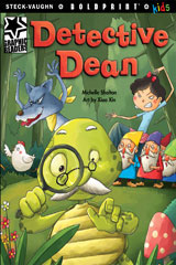 Steck-Vaughn BOLDPRINT Kids Graphic Readers  Individual Student Edition Detective Dean-9781770585867