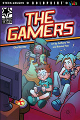 Steck-Vaughn BOLDPRINT Kids Graphic Readers  Individual Student Edition The Gamers-9781770585874