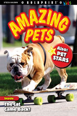 Steck-Vaughn BOLDPRINT Kids Anthologies  Big Book Amazing Pets-9781770586208