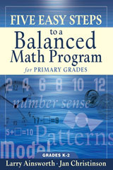 Five easy Steps to a Balanced Math program  Primary-9781933196220