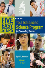 Five Easy Steps to a Balanced Science Program  for Secondary Grades-9781933196978