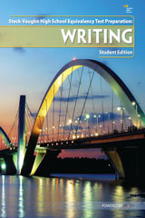Steck-Vaughn High School Equivalency Test Prep  Writing Student Workbook-9781934350669