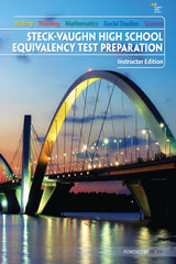 Steck-Vaughn High School Equivalency Test Prep  Instructor Teacher Edition-9781934350706