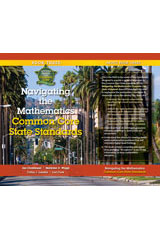 Getting Ready for the Common Core  Navigating the Mathematics Common Core State Standards Book 3-9781935588160