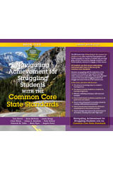 Navigating Achievement for Struggling Students with Common Core State Standards  Book-9781935588443