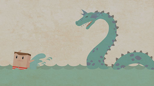 S is for Sea Serpent