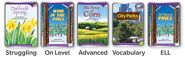 West Virginia Journeys Leveled Readers
