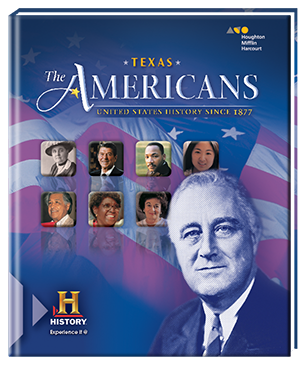houghton mifflin harcourt the americans united states history  the americans texas edition