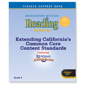 Houghton Mifflin Reading California CommonCore