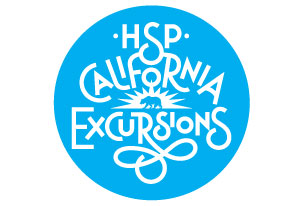HSP California Excursions Logotype
