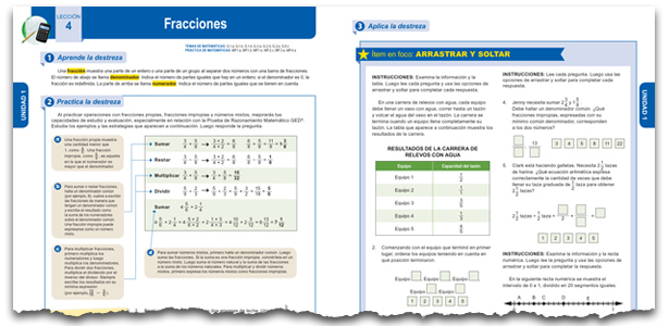 GED Spanish Math Example